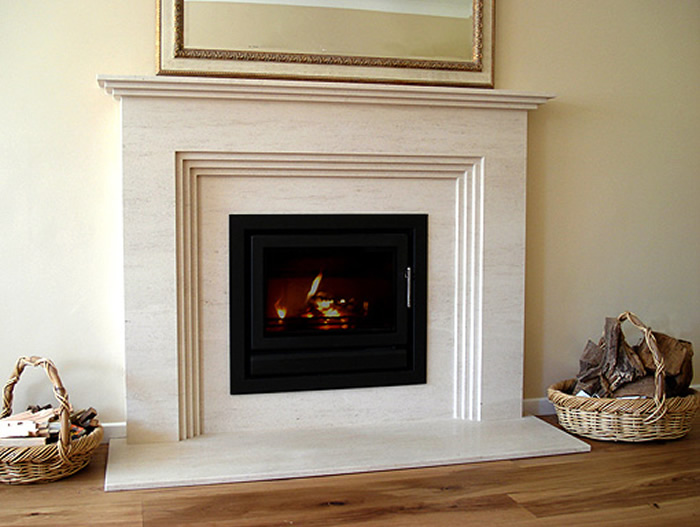 Stone fireplaces and fire surrounds by norfolk stone masons for Marble for fireplace surround
